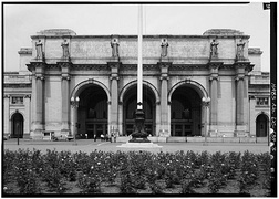 South Front Entrance, 1968