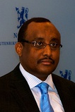 Former Prime Minister of Somalia and current President of Puntland Abdiweli Mohamed Ali (MA, 1988)