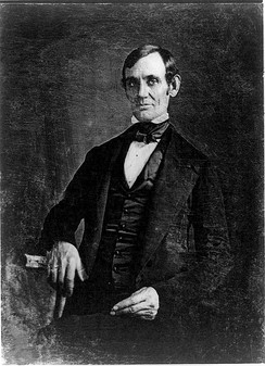 Lincoln in 1846 or 1847