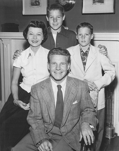 The Nelson family, 1952