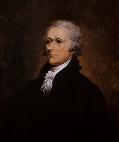 Alexander Hamilton, the founder of the Federalist Party