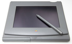 The Penlite was Apple's first attempt at a tablet computer. Created in 1992, the project was designed to bring the Mac OS to a tablet – but was shelved in favor of the Newton.[50]