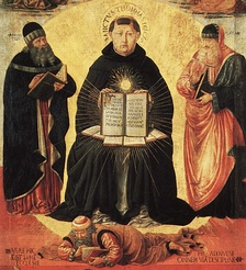 Saint Thomas Aquinas was one of the great Western scholars of the Medieval period.