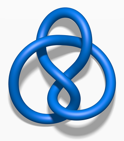 The hyperbolic volume of the figure-eight knot is 2.0298832.