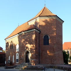 St Martin's Church, the only remaining part of the medieval Piast stronghold that once stood in Wrocław