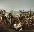 """Napoleon is presented the body of Desaix"" by Jean Broc."