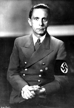 Joseph Goebbels' Ministry of Public Enlightenment and Propaganda was a driving force of suppressing freedom of the press in Nazi Germany.