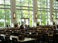 The Commons Center dining hall