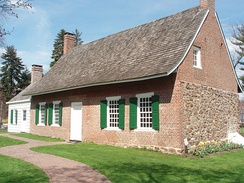 DeWint House (circa 1700) is the oldest home in Rockland County.