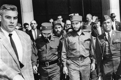 Fidel Castro during a visit to Washington, D.C., shortly after the Cuban Revolution in 1959