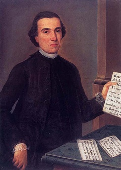 Mexican-born Jesuit Francisco Clavijero (1731-1787) wrote an important history of Mexico.