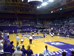 The Hec Edmundson Pavilion hosts basketball and volleyball events.