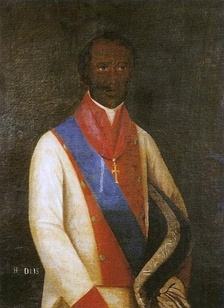 Portrait of Henrique Dias at the Museu do Estado de Pernambuco (Museum of the State of Pernambuco)