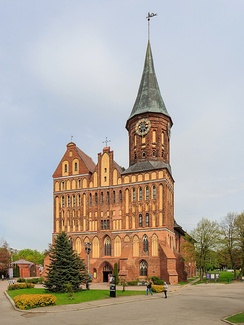 The 14th-century Königsberg Cathedral