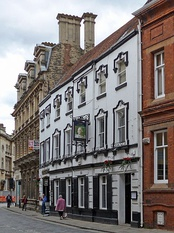 The George Hotel in the city centre