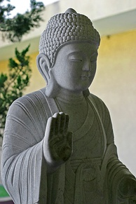 Buddhism is sometimes described as nontheistic because of the absence of a creator god, but that can be too simplistic a view.[97]