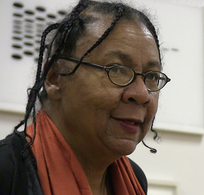 Feminist, author and social activist bell hooks (b. 1952).