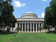 Harvard University (top) and MIT (bottom) are both widely regarded as in the top handful of universities worldwide for academic research in various disciplines.[15]