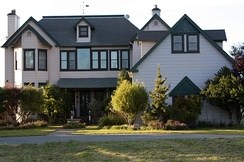 Stu Macher's house, the location of the 40-minute finale of the film. Filming took place at the house over 21 nights.
