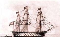 Mahmudiye (1829) participated in numerous important naval battles, including the Siege of Sevastopol