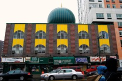 Masjid Malcolm Shabazz in Harlem, New York City