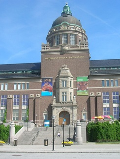 The Swedish Museum of Natural History (S), Stockholm, Sweden