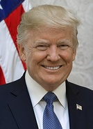 Donald Trump 45th President since January 20, 2017