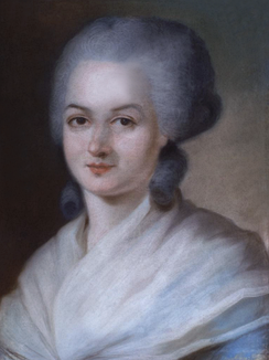 Olympe de Gouges was the author of the Declaration of the Rights of Woman and of the Female Citizen in 1791.