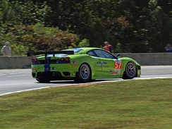 Krohn's Ferrari F430 at the 2011 Petit Le Mans