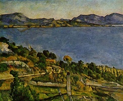 Paul Cézanne's The Bay of Marseille, Seen from L'Estaque