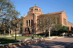 Powell Library, UCLA.