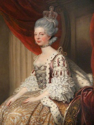 Queen Charlotte of Great Britain and Ireland.