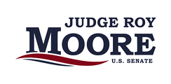 Roy Moore campaign sign, 2017