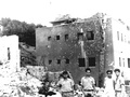 Safad Municipal Police Station after the battle (1948)