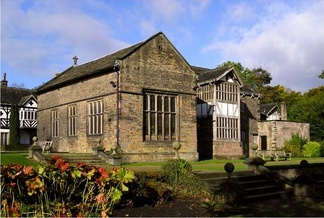 Smithills Hall is one of several medieval manor houses in Greater Manchester to be protected as a scheduled monument.