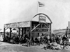 Alfred Shaw and Co.'s machinery exhibition at the Queensland Intercolonial Exhibition, 1876