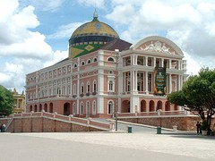The Amazonas theatre in Manaus, Brazil