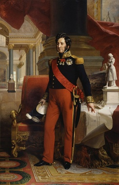 Louis Philippe I, the last King of the French