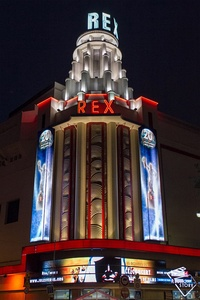 Grand Rex movie theater in Paris (1932)