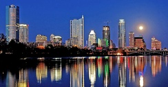 4 – Austin, capital of the state