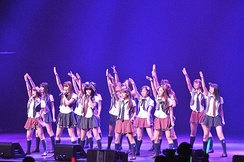 AKB48 has occupied the top spot in the Oricon yearly single sales ranking every year since 2010.[175]