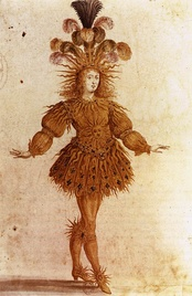 Louis XIV in costume for the Ballet Royal de la Nuit (1653)