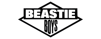 The Beastie Boys' group logo used during the release of Licensed to Ill (circa 1985-1986)