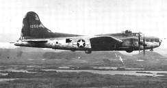 Squadron B-17E Flying Fortress in Panama, 1942