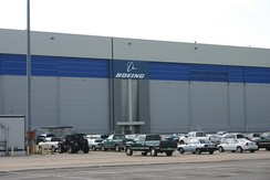 In 2012, Boeing announced it would close its pictured facility in Wichita, Kansas.