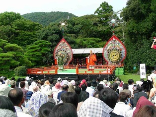 Jingu-Bugaku at Kotaijingu (Naiku), Ise city, Mie Prefecture