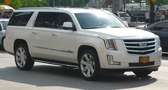 2016 Escalade ESV sporting the new Cadillac crest