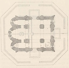 План Дмитриевского собора[7]