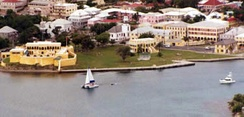 Christiansted, the largest town on Saint Croix