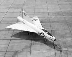 The Convair XF-92A was the first US delta wing aircraft